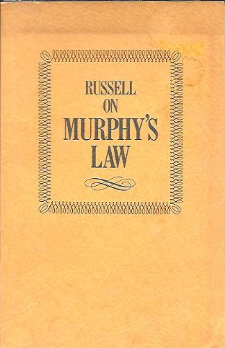 Murphy's Law (0890872244) by Russell, Jim