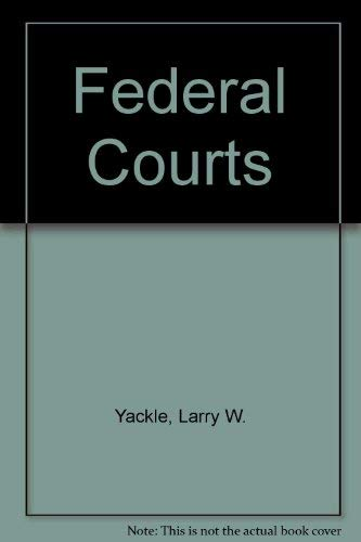 9780890892008: Federal Courts, Second Edition