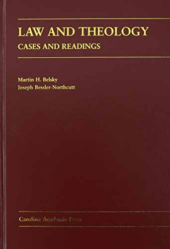 9780890892138: Law and Theology: Cases and Readings