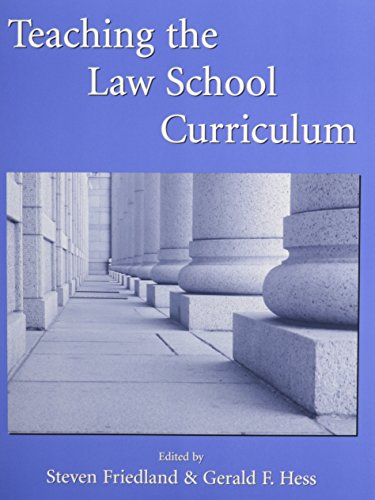 9780890892442: Teaching the Law School Curriculum