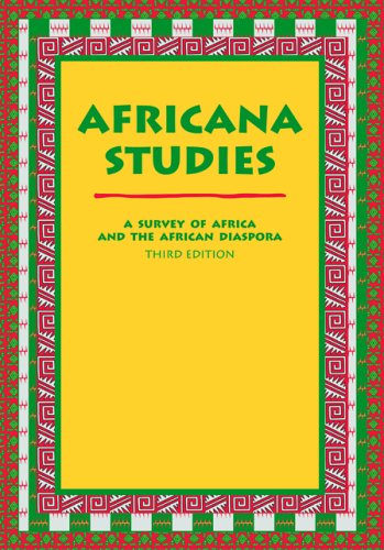 9780890894859: Africana Studies: A Survey of Africa And the African Diaspora
