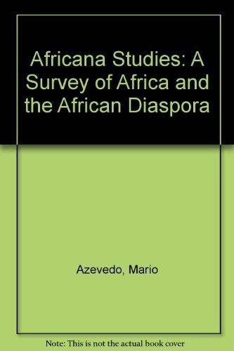 9780890895283: Africana Studies: A Survey of Africa and the African Diaspora