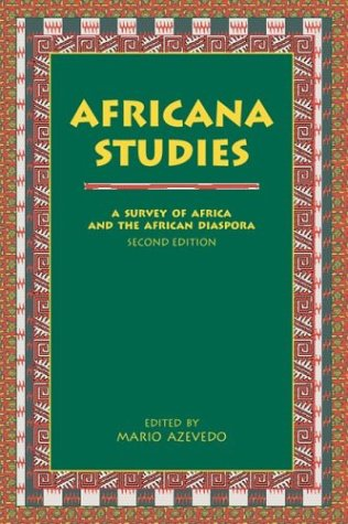 9780890896556: Africana Studies: A Survey of Africa and the African Diaspora