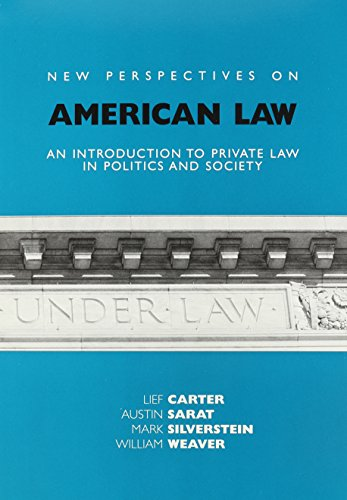 New Perspectives on American Law: An Introduction: Austin Sarat, Mark