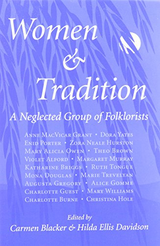 9780890897393: Women and Tradition: A Neglected Group of Folklorists