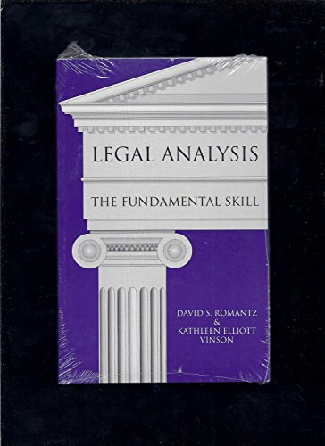 Legal Analysis: The Fundamental Skill