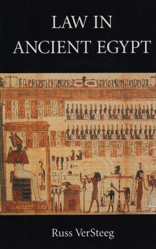 9780890899786: Law in Ancient Egypt