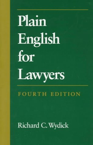 9780890899946: Plain English for Lawyers