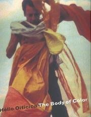 9780890901441: Helio Oiticica: The Body of Color