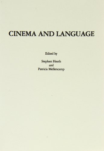 9780890935835: Cinema and Language