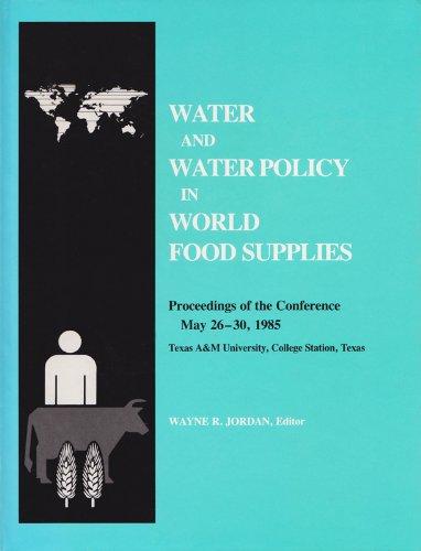 Water and Water Policy (Hardback): W. Jordan