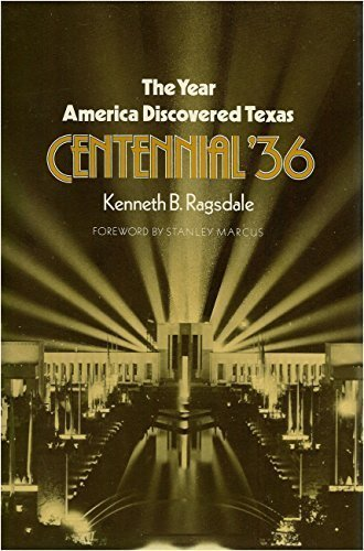 9780890962992: The Year America Discovered Texas: Centennial '36 (Centennial Series of the Association of Former Students, Texas a & M University)