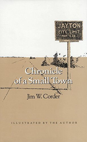 9780890964149: Chronicle of a Small Town