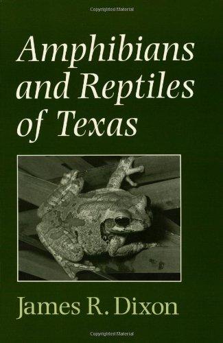 9780890969205: Amphibians and Reptiles of Texas (W. L. Moody Jr. Natural History Series)
