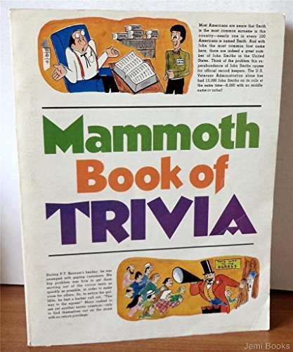 Mammoth Book of Trivia: Meyers, James.