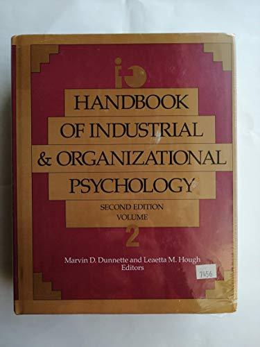 Handbook of Industrial and Organizational Psychology Vol. 2 (Handbook of Industrial & ...