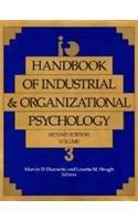 9780891060437: Handbook of Industrial and Organizational Psychology Vol. 3 (HANDBOOK OF INDUSTRIAL AND ORGANIZATIONAL PSYCHOLOGY 2ND ED)