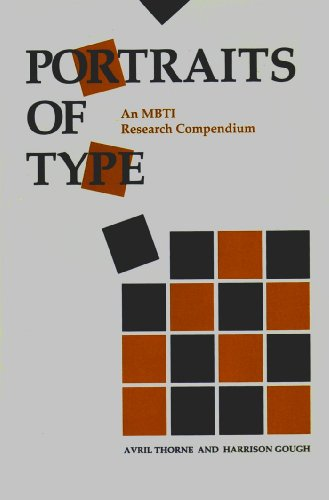 9780891060482: Portraits of Type: An Mbti Research Compendium