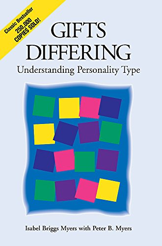 9780891060741: Gifts Differing: Understanding Personality Type