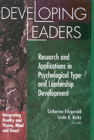 9780891060826: Developing Leaders: Research and Applications in Psychological Type and Leadership Development