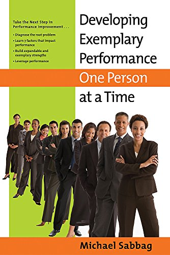 9780891062493: Developing Exemplary Performance One Person at a Time