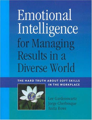 Emotional Intelligence for Managing Results in a: Lee Gardenswartz; Jorge