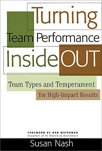 9780891063919: Turning Team Performance Inside Out: Team Types and Temperament for High-impact Results