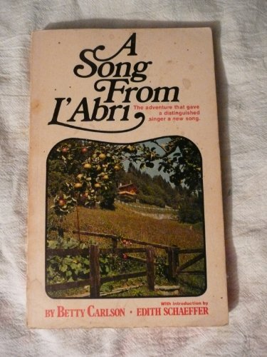 9780891070009: A song from L'Abri