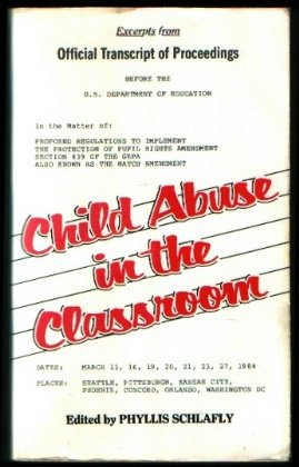 9780891073659: Child Abuse in the Classroom