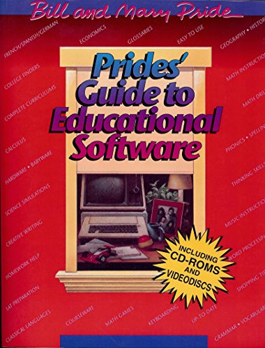 Prides' Guide to Educational Software (0891076654) by Pride, Bill; Pride, Mary