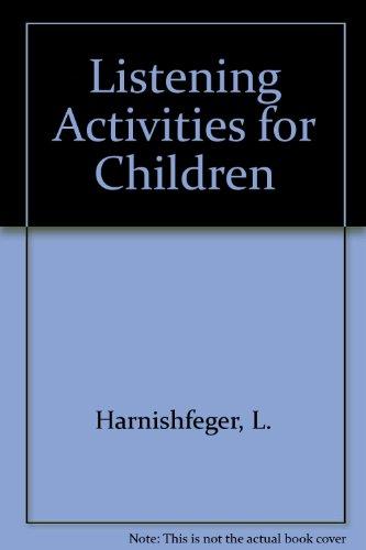 9780891081777: Listening Activities for Children