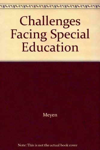 9780891082293: Challenges Facing Special Education