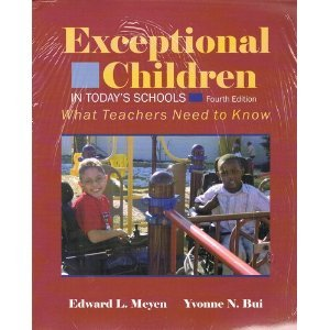 9780891082378: Exceptional Children in Todays Schools, 3rd edition