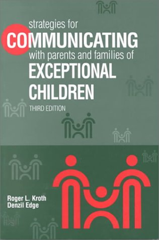 9780891082484: Strategies for Communicating With Parents and Families of Exceptional Children