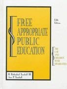 9780891082583: Free Appropriate Public Education: The Law and Children With Disabilities
