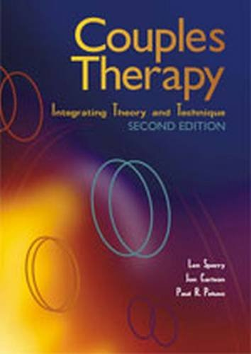 Couples Therapy: Integrating Theory and Technique (Paperback): Len Sperry, Jon Carlson