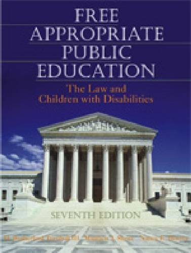 9780891083252: Free Appropriate Public Education: The Law and Children With Disabilities