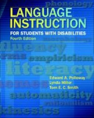 9780891083511: Language Instruction for Students With Disabilities