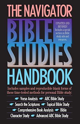 9780891090755: The Navigator Bible Studies Handbook (LifeChange)