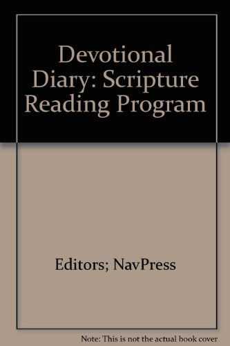 9780891093251: Devotional Diary: Scripture Reading Program
