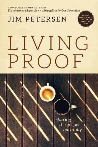 Living Proof: Sharing the Gospel Naturally (LifeChange): Jim Petersen