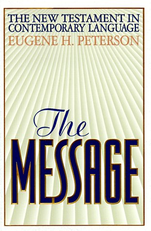 9780891097280: The Message: The New Testament in Contemporary English (English and Greek Edition)