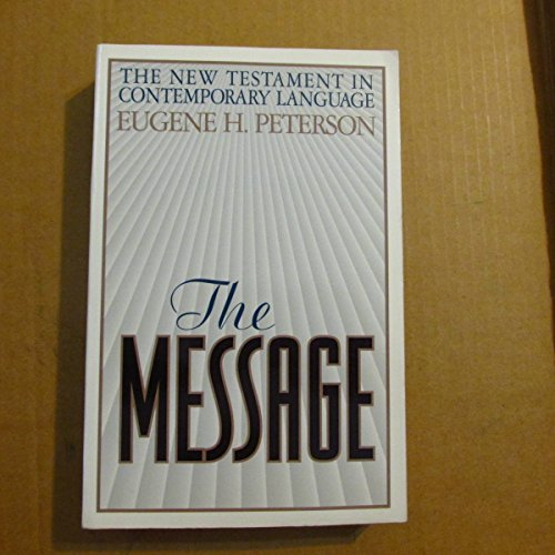 9780891098539: The Message: The New Testament in Contemporary Language