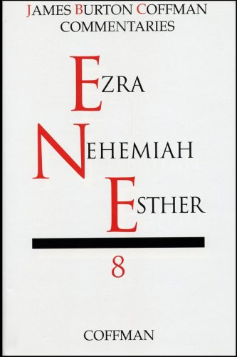 9780891120889: Commentary on Ezra, Nehemiah, Esther