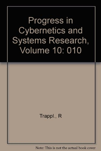 9780891162391: Progress in Cybernetics and Systems Research