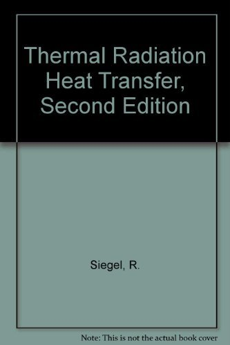 9780891165064: Therm Rad Heat Trans - See 3Ed