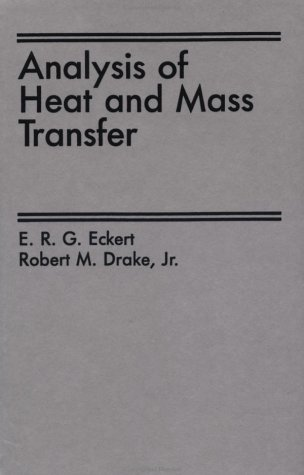 9780891165538: Analysis Of Heat And Mass Transfer