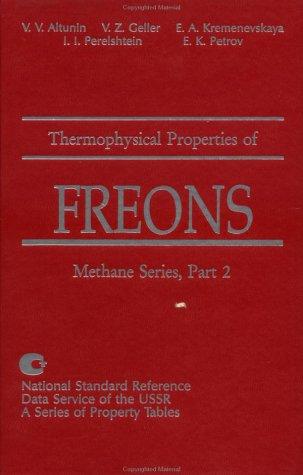 Thermophysical Properties Of Freons, Vol. 9: Methane: Altunin, V. V.