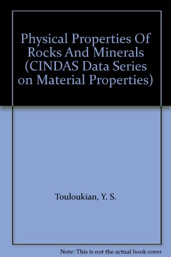 9780891168836: Physical Properties Of Rocks And Minerals (CINDAS Data Series on Material Properties)
