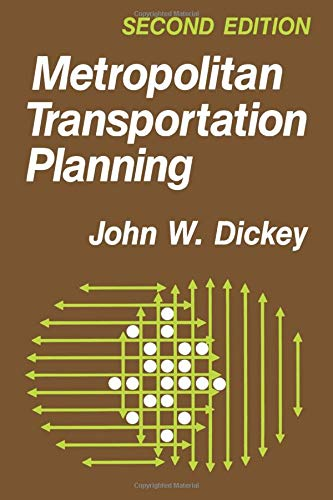 9780891169222: Metropolitan Transportation Planning, 2nd Edition